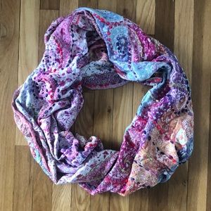 Anthropologie Oversized Multi-Colored Scarf